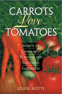 Book about companion planting for gardening