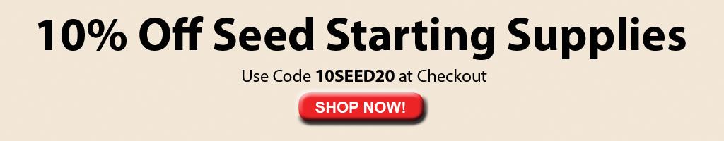 10% de descuento en suministros iniciales de semillas