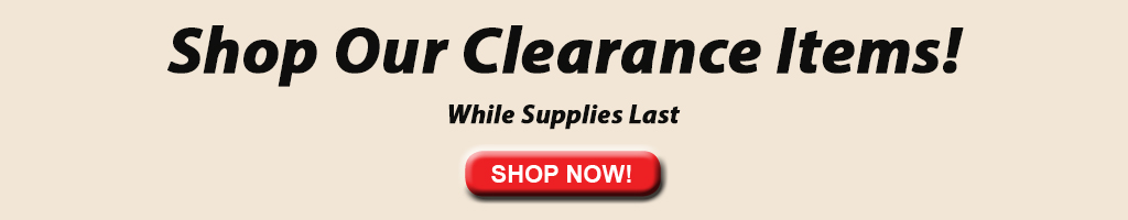 Shop our clearance items