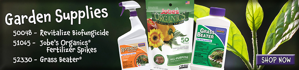 Garden Supplies offered by Jung Seed such as fertilizers and weed control